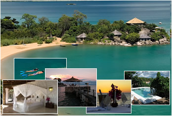 Kaya Mawa Luxury Resort in Lake Malawi